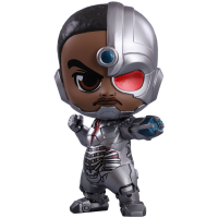 Justice League (2017) - Cyborg Cosbaby 3.75 inch Hot Toys Bobble Head Figure