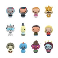 Rick and Morty - Pint Size Heroes Hot Topic Exclusive Blind Bag Gravity Feed Display (24 Units)