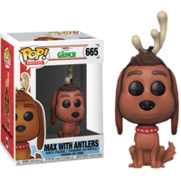 The Grinch - Max the Dog with Antlers Pop! Vinyl Figure