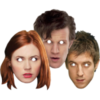 Doctor Who - Companions Face Mask 3-Pack