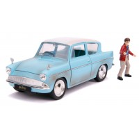 Harry Potter - 1959 Ford Anglia 1:24 Hollywood Ride Diecast Vehicle
