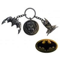 Batman (1989) - CHS Keychain & Pin Set