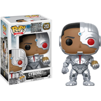 Justice League (2017) - Cyborg with Mother Box Out of the Box Pop! Vinyl Figure