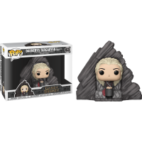 Game of Thrones - Daenerys Targaryen on Dragonstone Throne Deluxe Pop! Vinyl Figure
