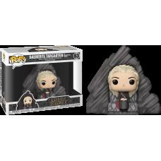Game of Thrones - Daenerys Targaryen on Dragonstone Throne Deluxe Pop! Vinyl Figure
