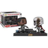Star Wars Episode VIII: The Last Jedi - Finn and Captain Phasma Rematch On The Supremacy Movie Moments Pop! Vinyl Figure 2-Pack