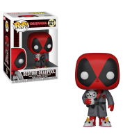 Deadpool - Deadpool in Bathrobe Playtime Pop! Vinyl Figure