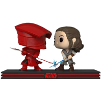Star Wars Episode VIII: The Last Jedi - Rey and Praetorian Guard Battle Movie Moments Pop! Vinyl Figure 2-Pack