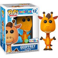 Pop! Bundles - Bundle of 12 Pops (with Flocked Geoffrey the Giraffe) Pop! Vinyl Figure
