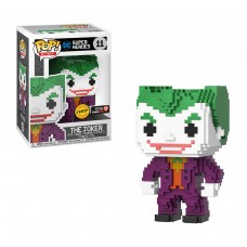 Batman - 8 Bit Metallic Chase Joker Pop! Vinyl Figure