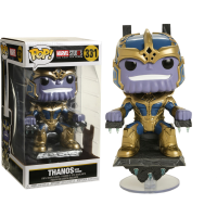Marvel Studios: The First Ten Years - Thanos on Throne 8 Inch Deluxe Pop! Vinyl Figure