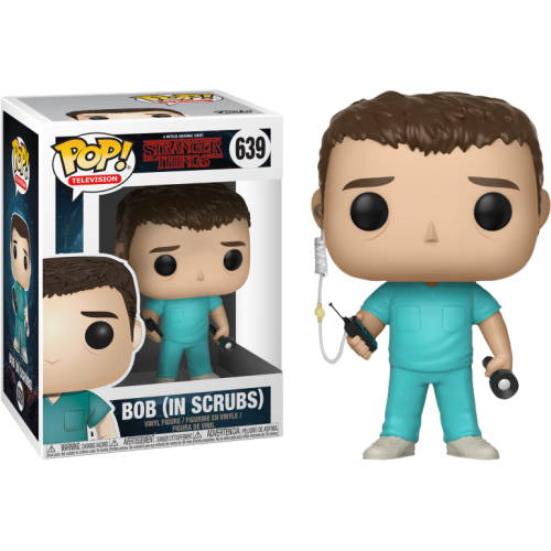 Stranger Things - Bob in Scrubs Pop! Vinyl Figure