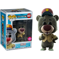 TaleSpin - Baloo Flocked Pop! Vinyl Figure