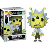 Rick and Morty: Alien Head Rick Pop! Vinyl Figure (2018 Spring Convention Exclusive)
