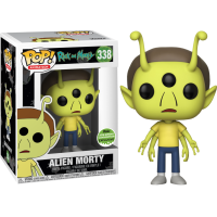 Rick and Morty: Alien Head Morty Pop! Vinyl Figure (2018 Spring Convention Exclusive)