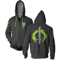 Overwatch - Ultimate Genji Men's Zip-Up Hoodie