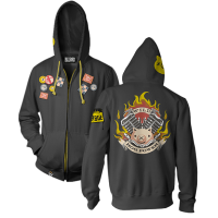 Overwatch - Ultimate Roadhog Men's Zip-Up Hoodie