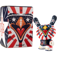 Dunny - Indie Eagle 3 Inch Vinyl Figure by Kronk
