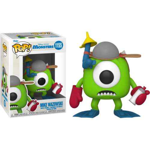 Monsters, Inc. - Mike Wazowski with Mitts 20th Anniversary Pop! Vinyl Figure