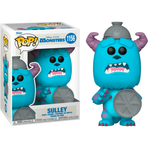 Monsters, Inc. - Sulley with Lid 20th Anniversary Pop! Vinyl Figure