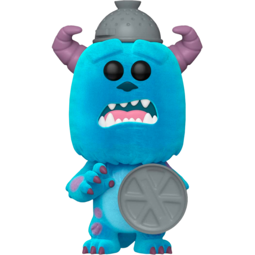 Monsters, Inc. - Sulley with Lid Flocked 20th Anniversary Pop! Vinyl Figure
