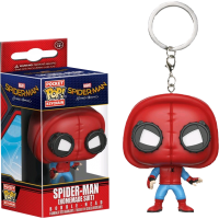 Spider-Man: Homecoming - Spider-Man in Homemade Suit Pocket Pop! Keychain