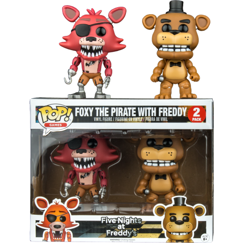 Five Nights at Freddy's - Freddy and Foxy Pop! Vinyl Figure 2-Pack