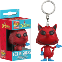 Dr Seuss - Fox in Socks Pocket Pop! Keychain