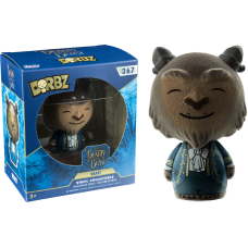 Beauty and the Beast (2017) - Beast Flocked Dorbz Vinyl Figure