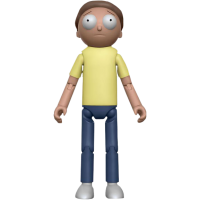 Rick and Morty - Morty 5 Inch Articulated Action Figure