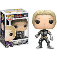 Tekken - Nina Williams Silver Suit Pop! Vinyl Figure