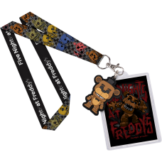 Five Nights at Freddy's - Freddy Lanyard with Backer Card
