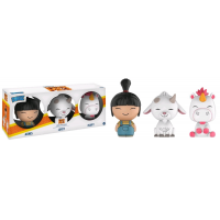 Despicable Me 3 - Agnes, Fluffy and Uni-Goat Dorbz Vinyl Figure 3-Pack