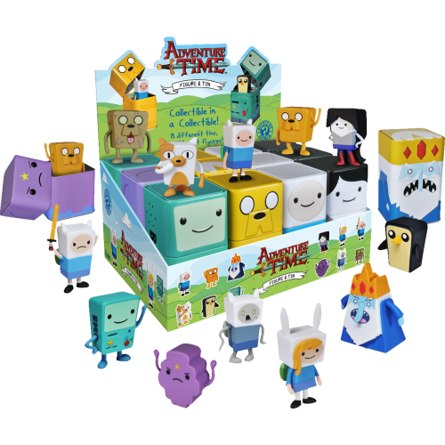 Adventure Time - Vinyl Figures in Collectable Tins (Pack of 12)