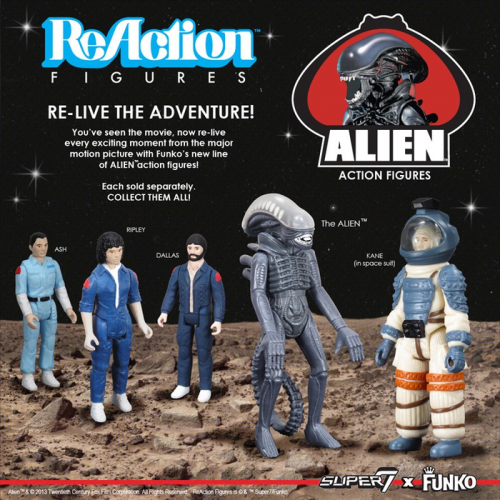 Alien - ReAction Figure (Set of 20)