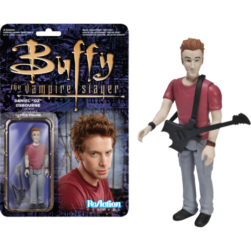 Buffy the Vampire Slayer - Oz ReAction 3.75 Inch Action Figure
