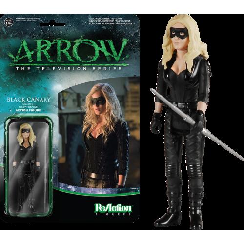 Arrow - Black Canary ReAction Figure