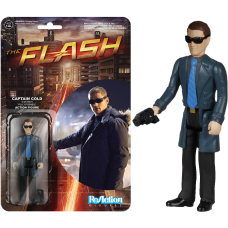 The Flash - Captain Cold ReAction 3.75 inch Action Figure