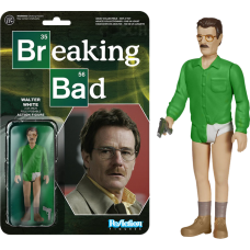Breaking Bad - Walter White ReAction 3.75 Inch Action Figure