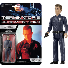 Terminator 2 - T-1000 Officer ReAction 3.75 inch Action Figure
