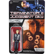 Terminator 2 - T-1000 Final Battle (Damaged) ReAction 3.75 inch Action Figure