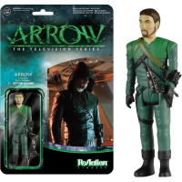 Arrow - Green Arrow Unmasked SDCC 2015 ReAction