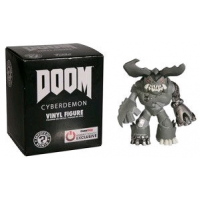 Doom - Cyberdemon Black and White Mystery Minis GS Exclusive Blind Box
