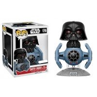Star Wars - Darth Vader with TIE Fighter Deluxe Pop! Vinyl Figure