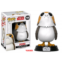 Star Wars: The Last Jedi - Flocked Porg Pop! Vinyl Figure