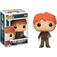 Harry Potter - Ron with Scabbers Pop! Vinyl Figure
