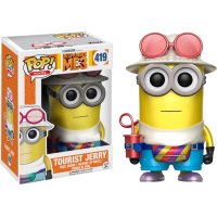 Despicable Me 3 - Jerry Tourist Metallic Pop! Vinyl Figure