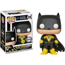 Batman - Yellow Lantern Batman Glow in the Dark Pop! Vinyl Figure