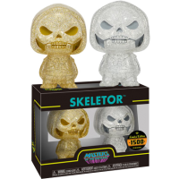 Masters of the Universe - Skeletor Gold and Silver XS Hikari Vinyl Figure 2-Pack