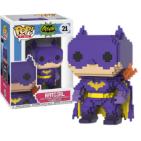 Batman - 1966 Batgirl 8-Bit Purple Pop! Vinyl Figure
